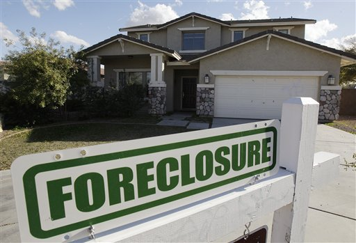 foreclosed home on sale