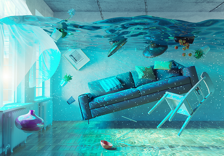 House underwater but it is not 2008 all over again.