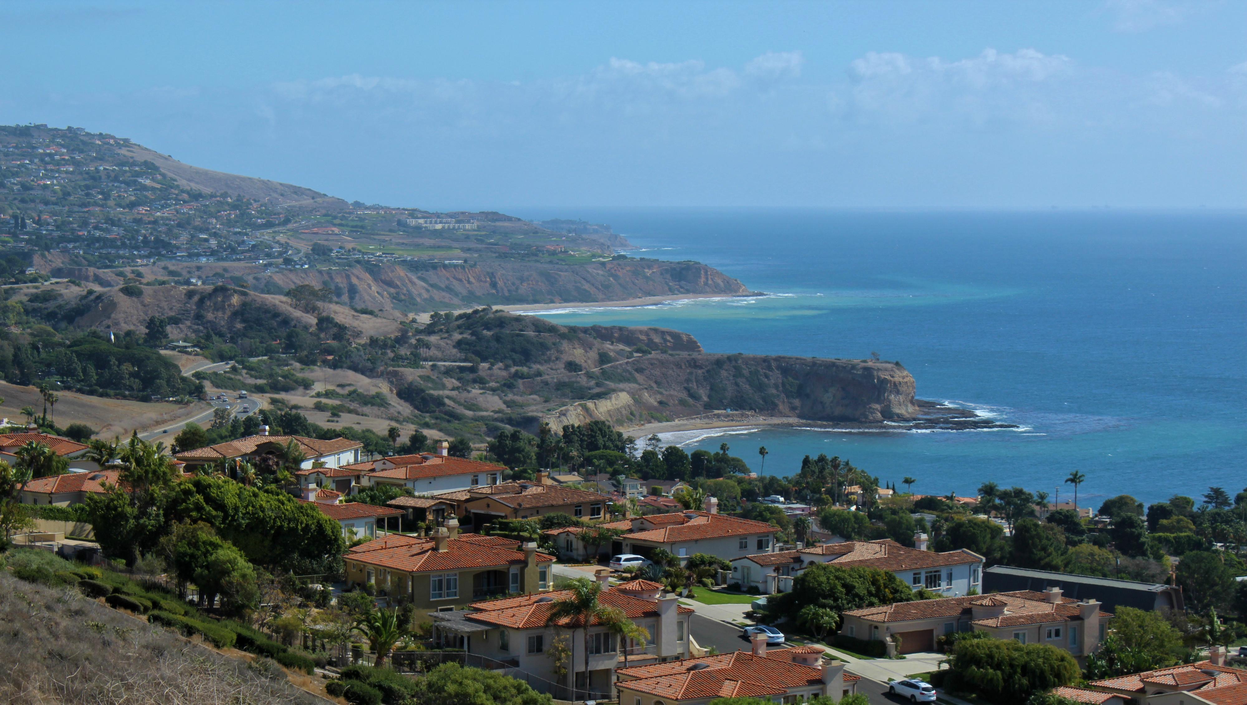 Coastline View of Palos Verdes